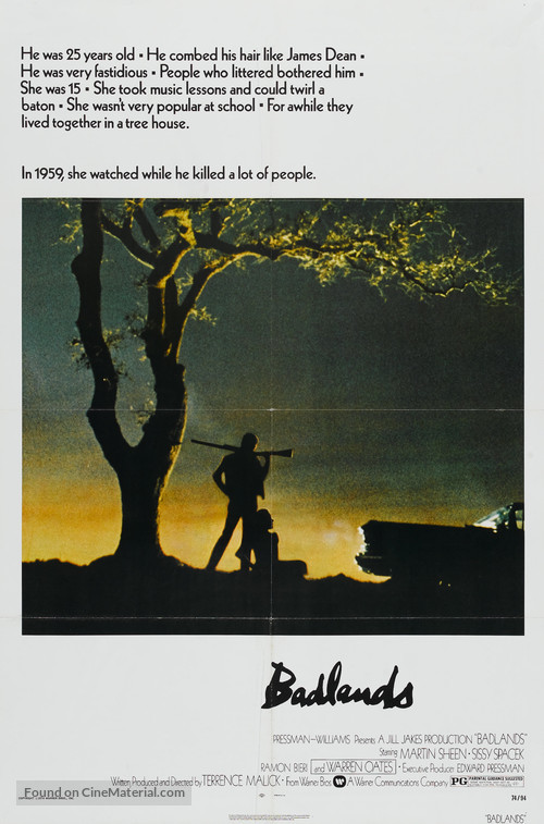 Badlands - Movie Poster