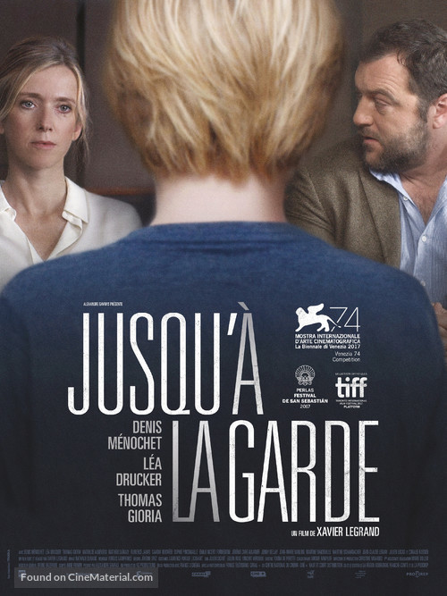 Jusqu'à la garde - French Movie Poster