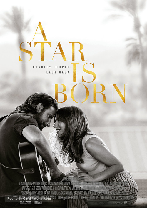 A Star Is Born - Swedish Movie Poster