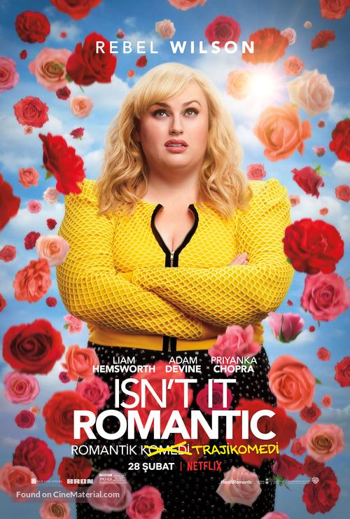 Isn't It Romantic - Turkish Movie Poster