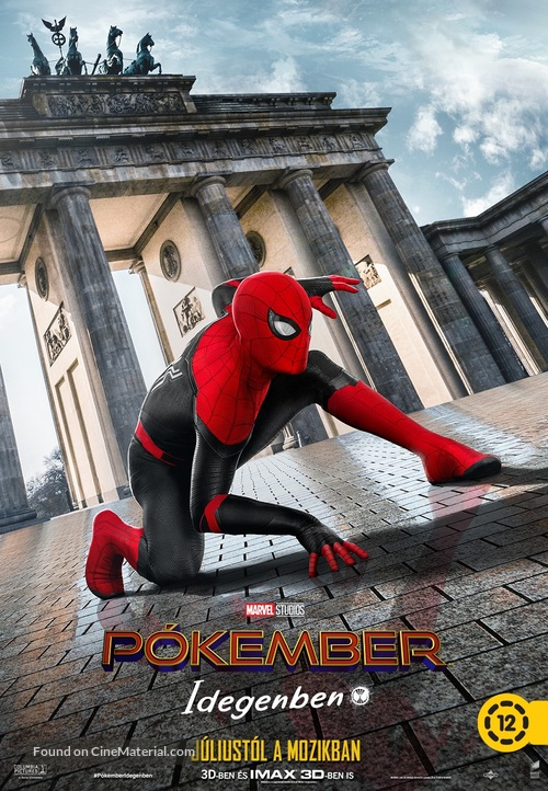 Spider-Man: Far From Home - Hungarian Movie Poster