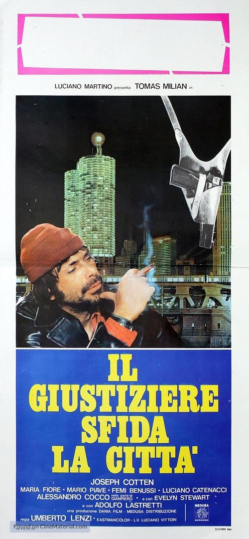 Giustiziere sfida la città, Il - Italian Movie Poster