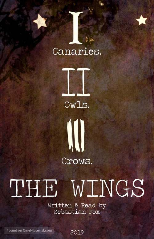 The Wings - Canadian Movie Poster