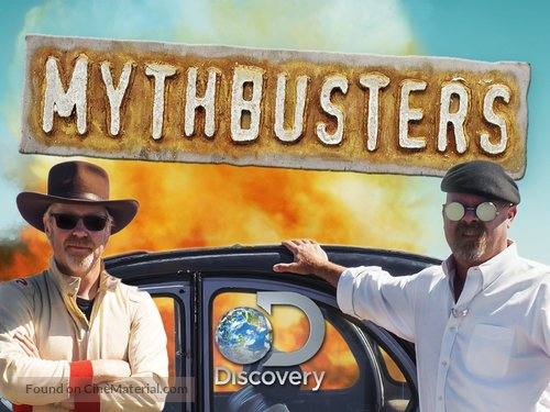 """MythBusters"" - Video on demand cover"