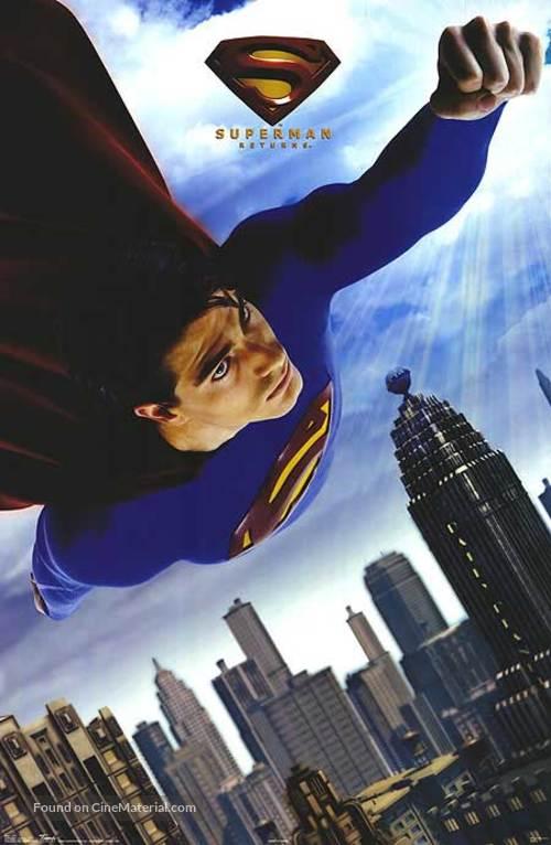 Superman Returns (2006) movie poster