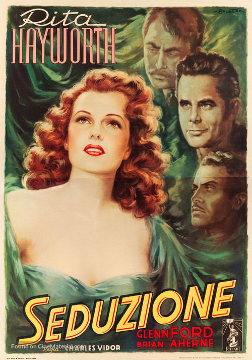 The Lady in Question - Italian Movie Poster