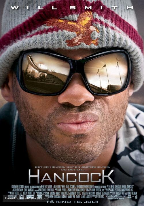 Hancock - Norwegian Movie Poster