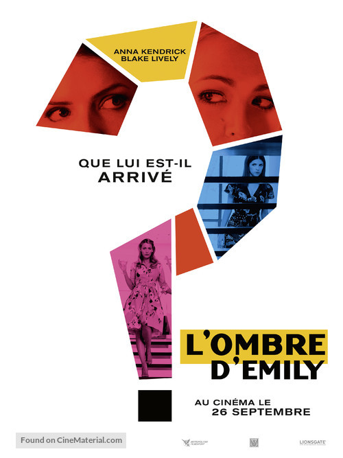 A Simple Favor - French Movie Poster