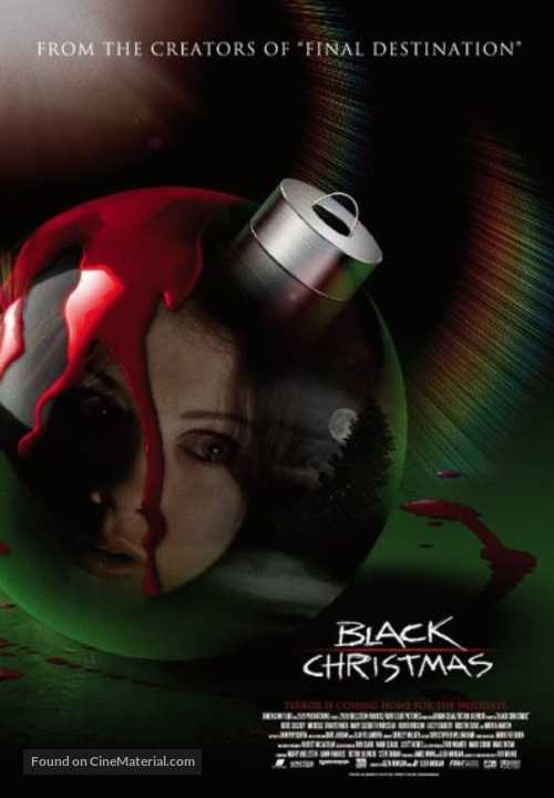 black christmas movie poster - Black Christmas Movie