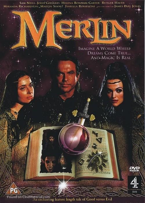 Merlin - British DVD movie cover