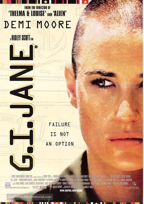 G.I. Jane - British Movie Poster