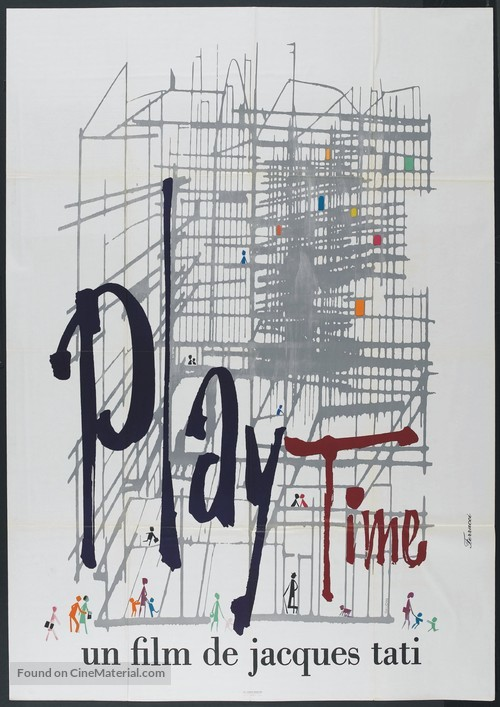Play Time - French Movie Poster