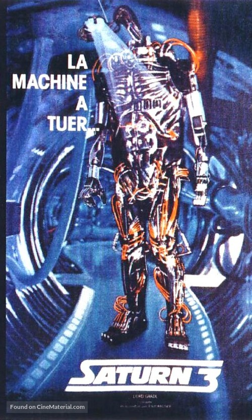 Saturn 3 - French Movie Poster