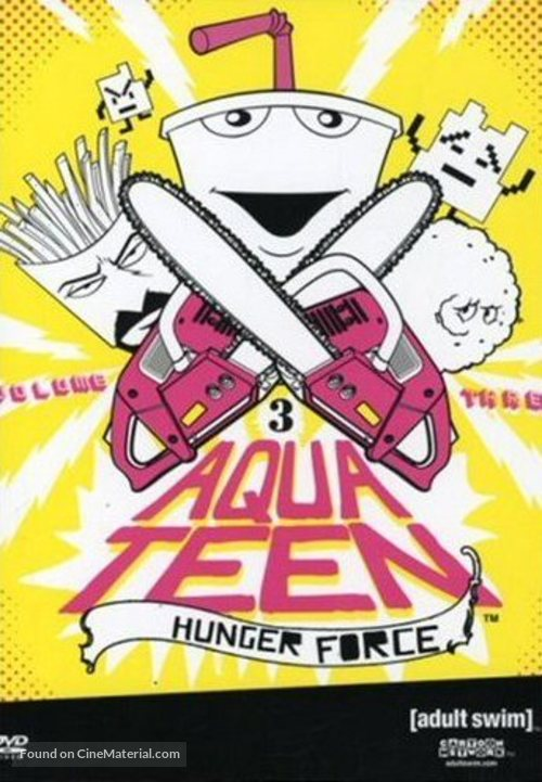 """Aqua Teen Hunger Force"" - DVD cover"