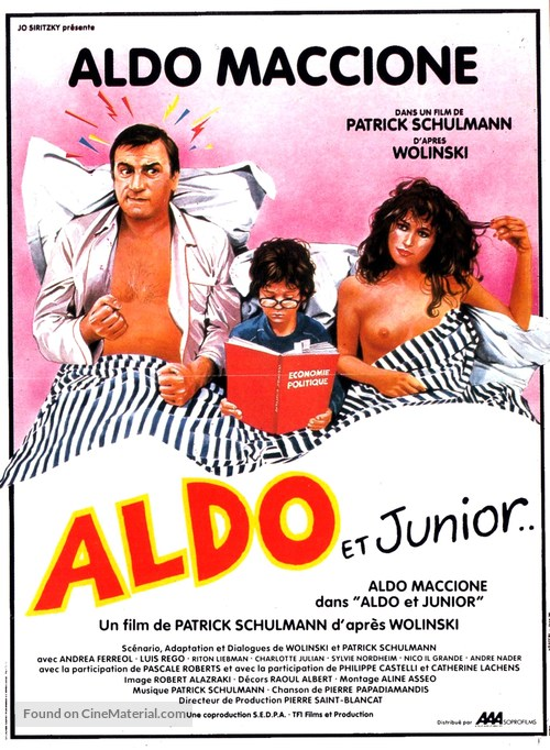 Aldo et Junior - French Movie Poster