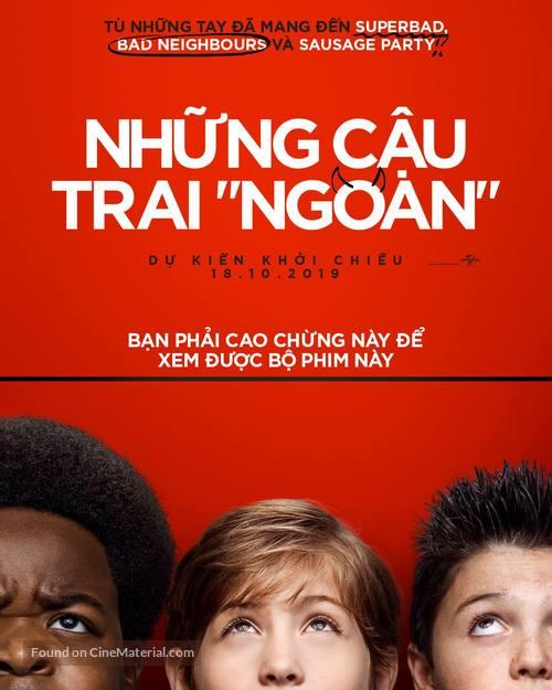 Good Boys - Vietnamese Movie Poster