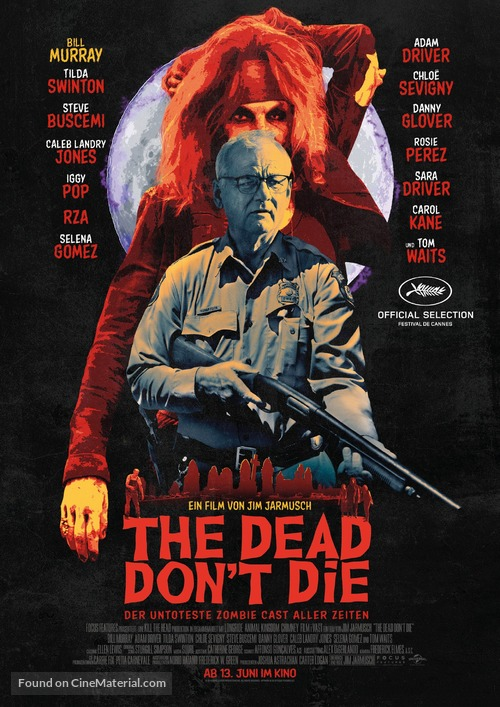 The Dead Don't Die - German Movie Poster