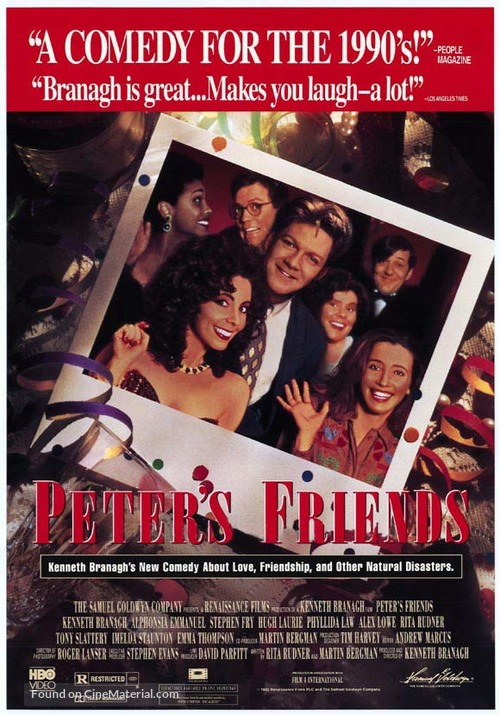 Peter's Friends - Movie Poster