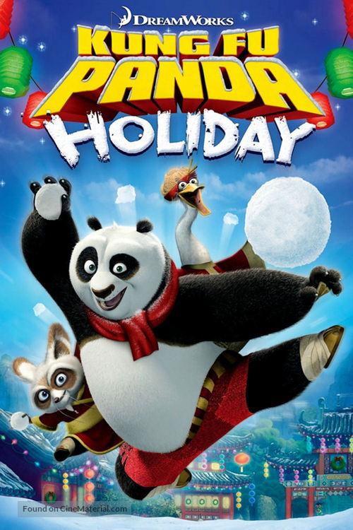 Kung Fu Panda Holiday - DVD movie cover