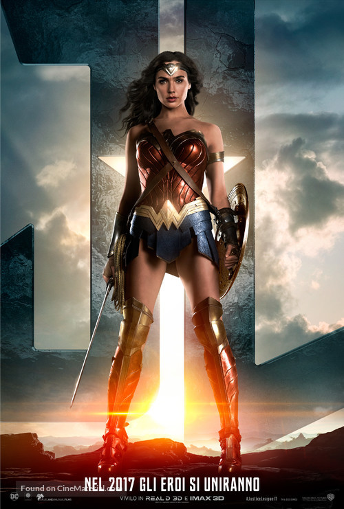 Justice League - Italian Movie Poster