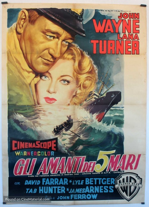 The Sea Chase - Italian Movie Poster