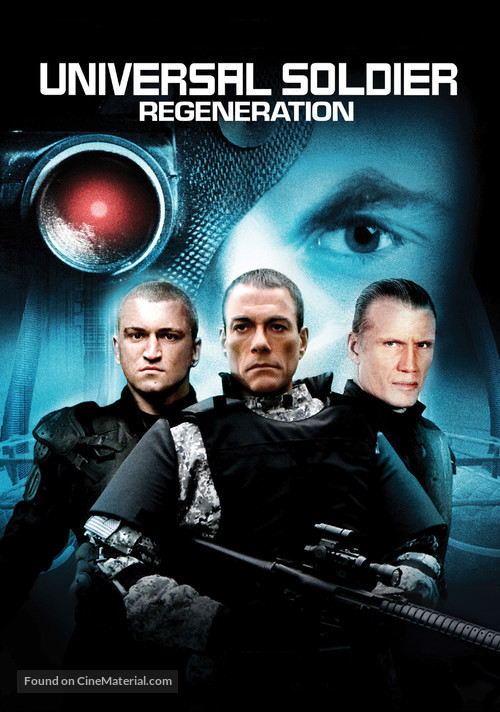 Universal Soldier: Regeneration - Movie Cover