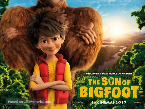 The Son of Bigfoot - British Movie Poster