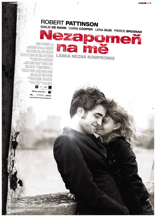Remember Me - Czech Movie Poster