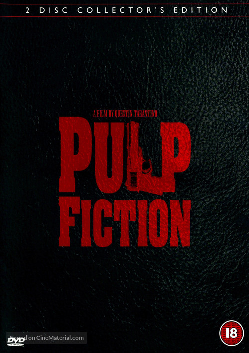 Pulp Fiction - British Movie Cover