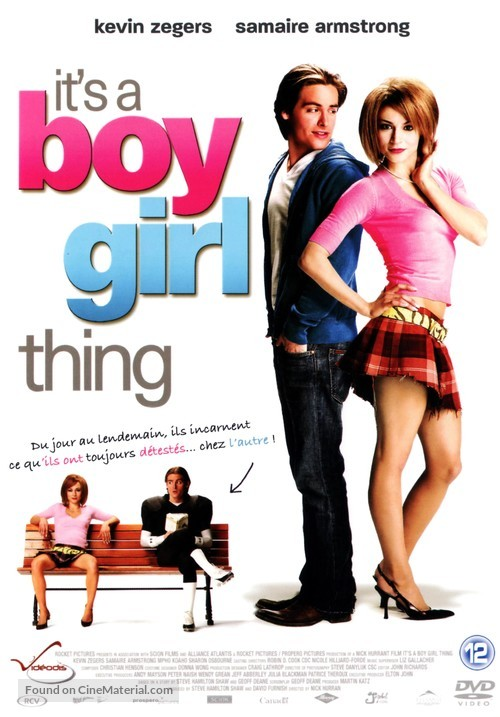 It's a Boy Girl Thing - Belgian DVD cover