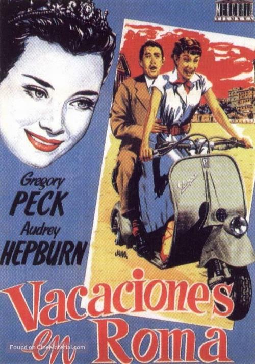 Roman Holiday - Spanish Movie Poster