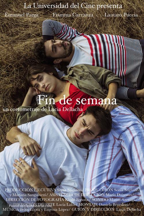 Fin de semana - Argentinian Movie Poster