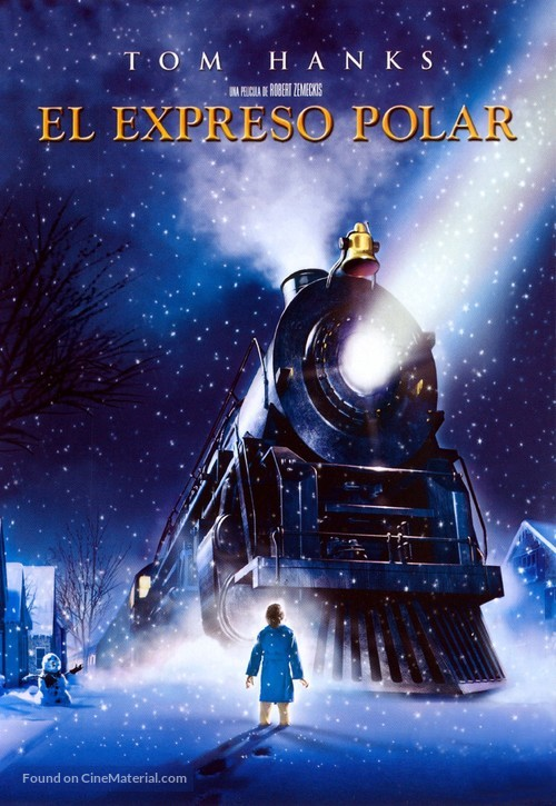 The Polar Express - Argentinian Movie Cover