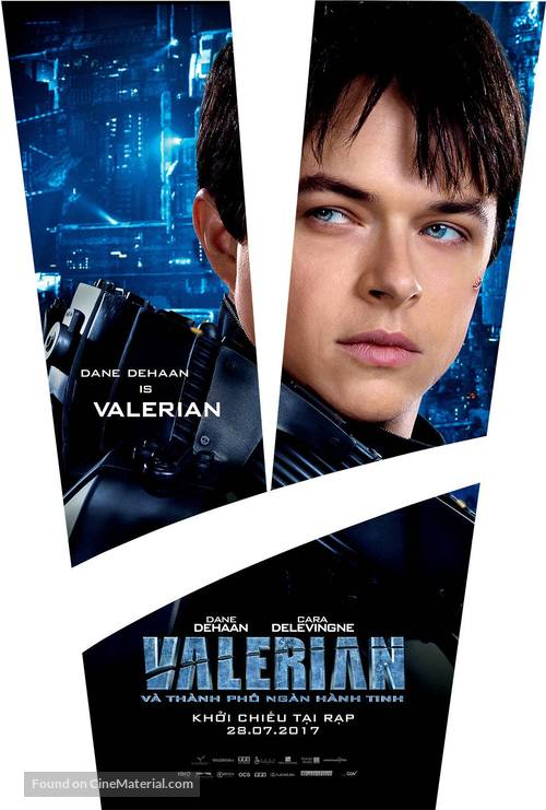 Valerian and the City of a Thousand Planets - Vietnamese Movie Poster