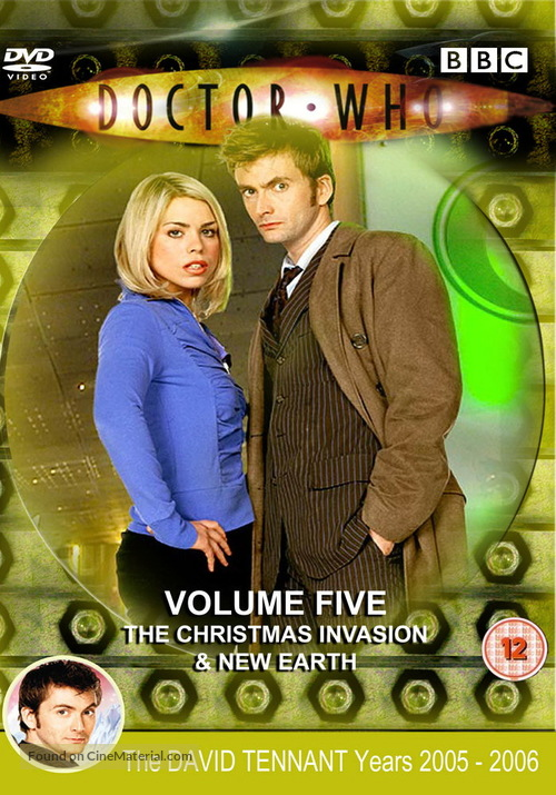 """Doctor Who"" - British Movie Cover"