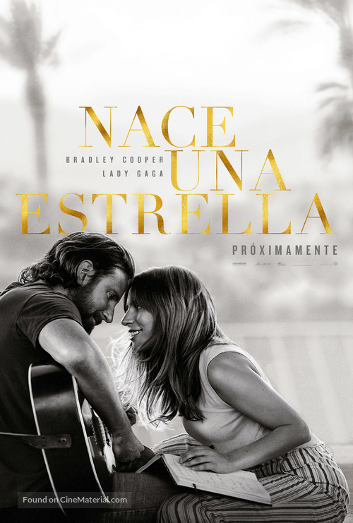 A Star Is Born - Argentinian Movie Poster
