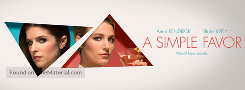 A Simple Favor - Movie Poster