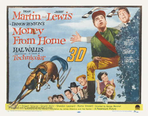 Money from Home - Theatrical poster