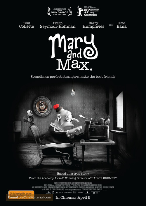 Mary and Max - Australian Movie Poster