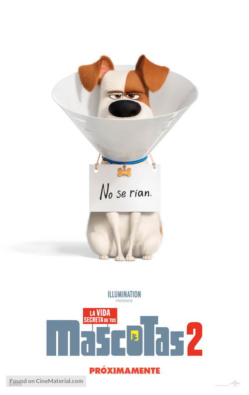 The Secret Life of Pets 2 - Mexican Movie Poster
