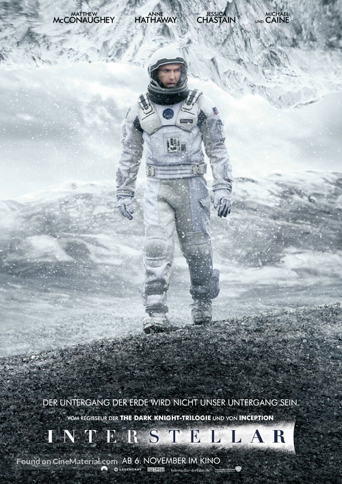 Interstellar - German Movie Poster