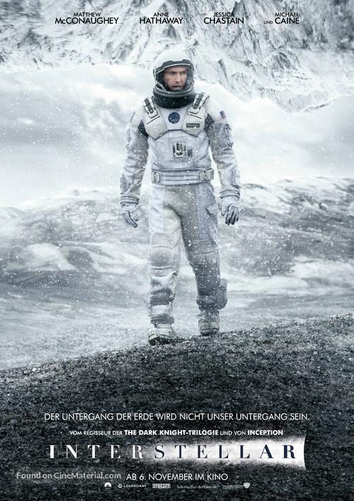 Interstellar - German Movie Poster