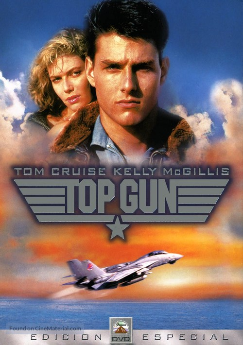 Top Gun - Spanish DVD movie cover