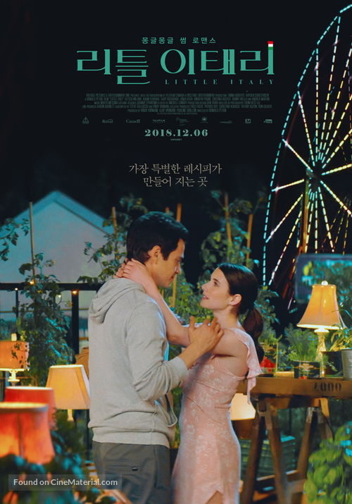 Little Italy - South Korean Movie Poster