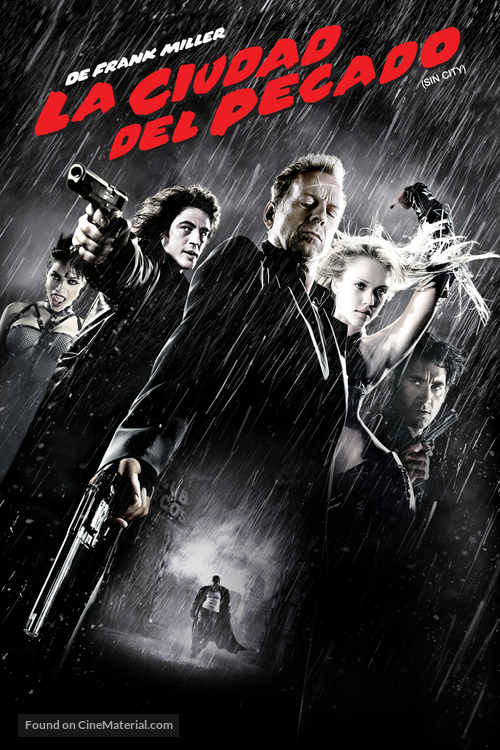Sin City - Argentinian DVD movie cover