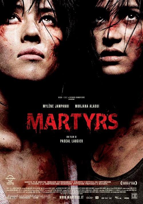 Martyrs - Italian Movie Poster