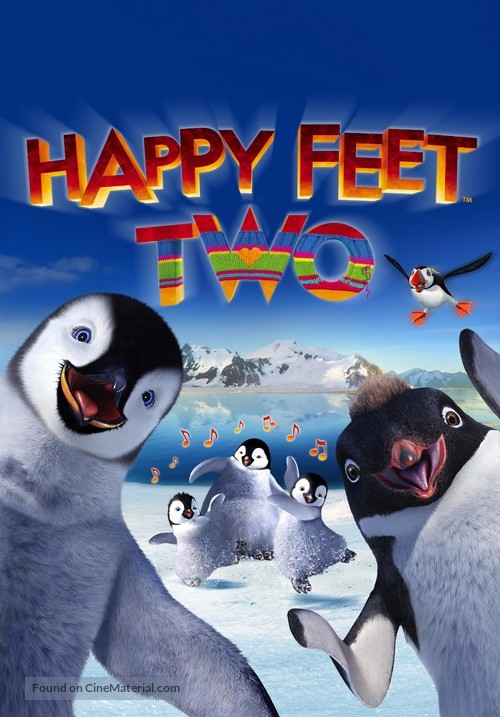 Happy Feet Two - DVD movie cover