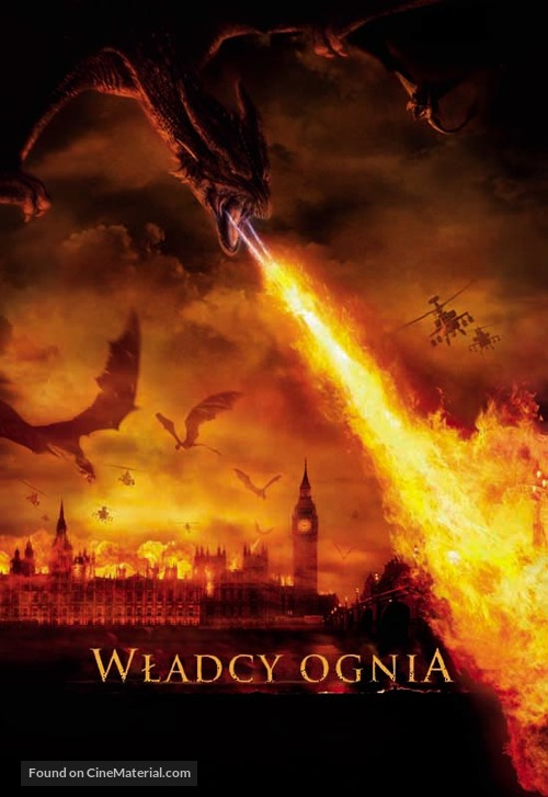 Reign of Fire - Polish Movie Poster