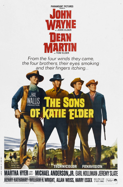 The Sons of Katie Elder - Theatrical poster