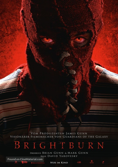 Brightburn - German Movie Poster